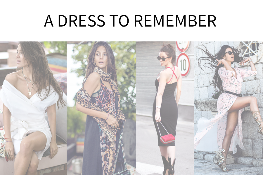 4 DRESSES FOR A STRESS-FREE FASHIONABLE SUMMER