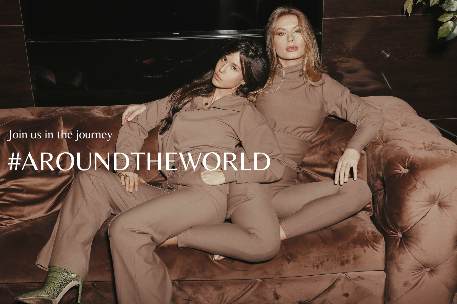 Join us in the journey #AROUNDTHEWORLD